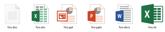 word document icon in windows 10