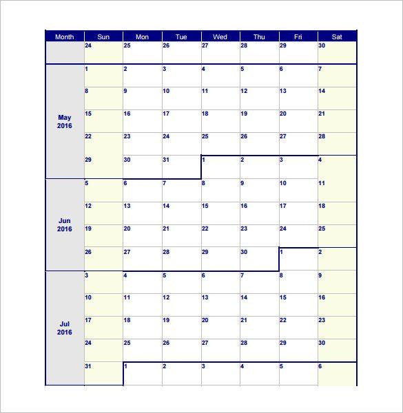 casa schedule 5 word document