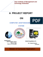 cyber cafe management system project documentation