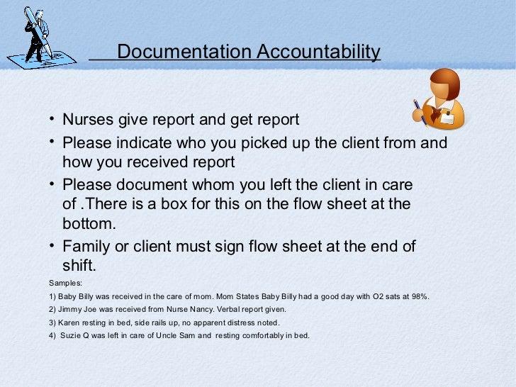 aged care documentation and accountability manual