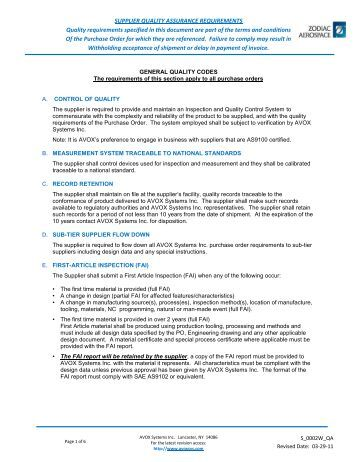 quality assurance documentation pdf