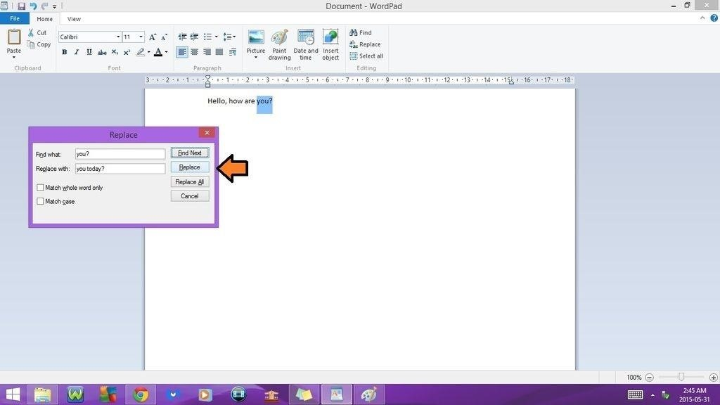 how to save word document using keyboard