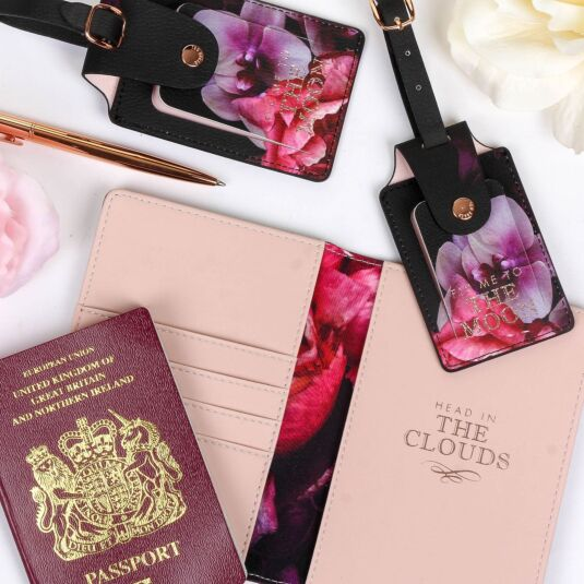 ted baker travel document wallet