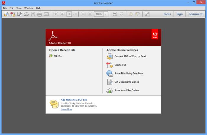 adobe document viewer free download