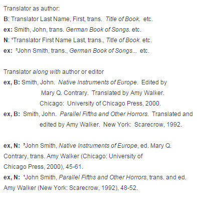 chicago documentation style footnotes endnotes