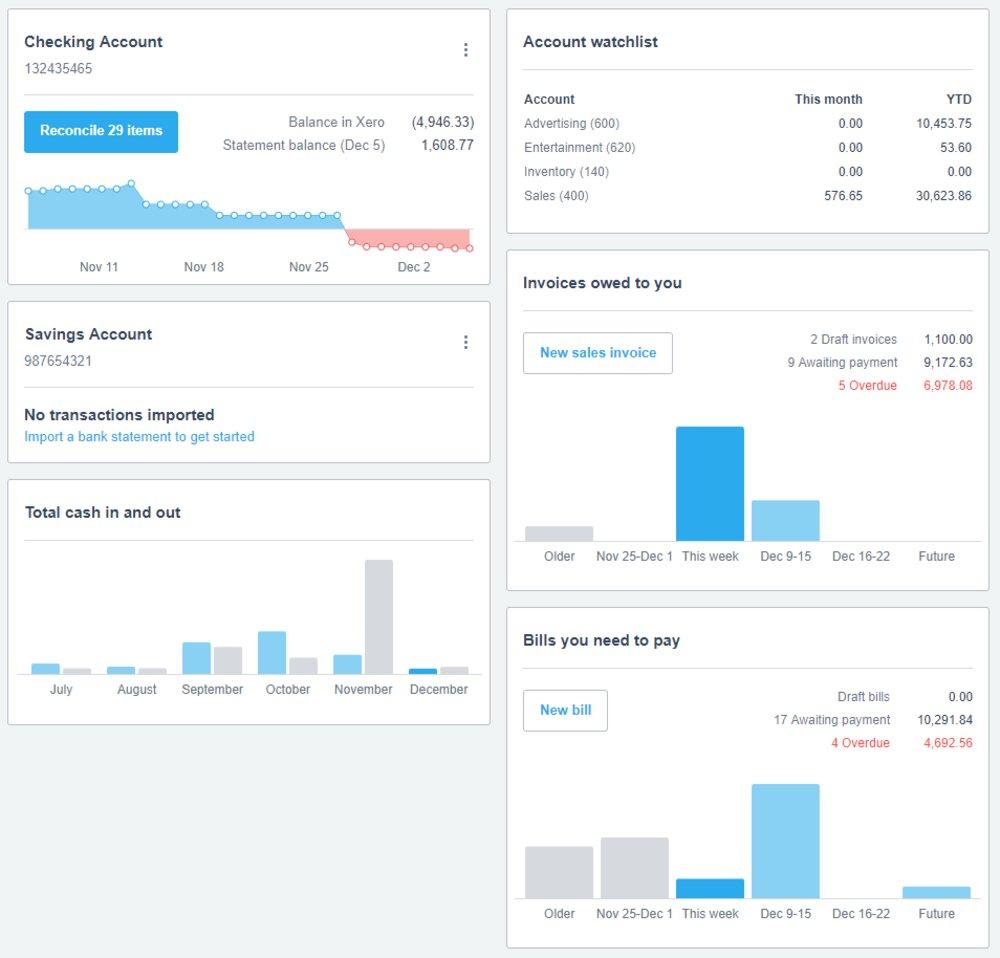 document management tool in xero