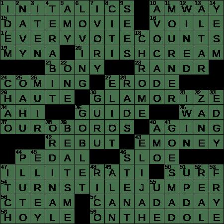 document of authenticity crossword clue