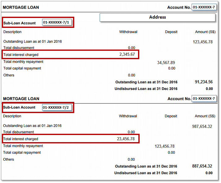 document required for openig bank account in singapore