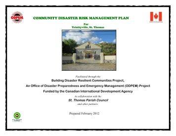 documentation for risk management plan
