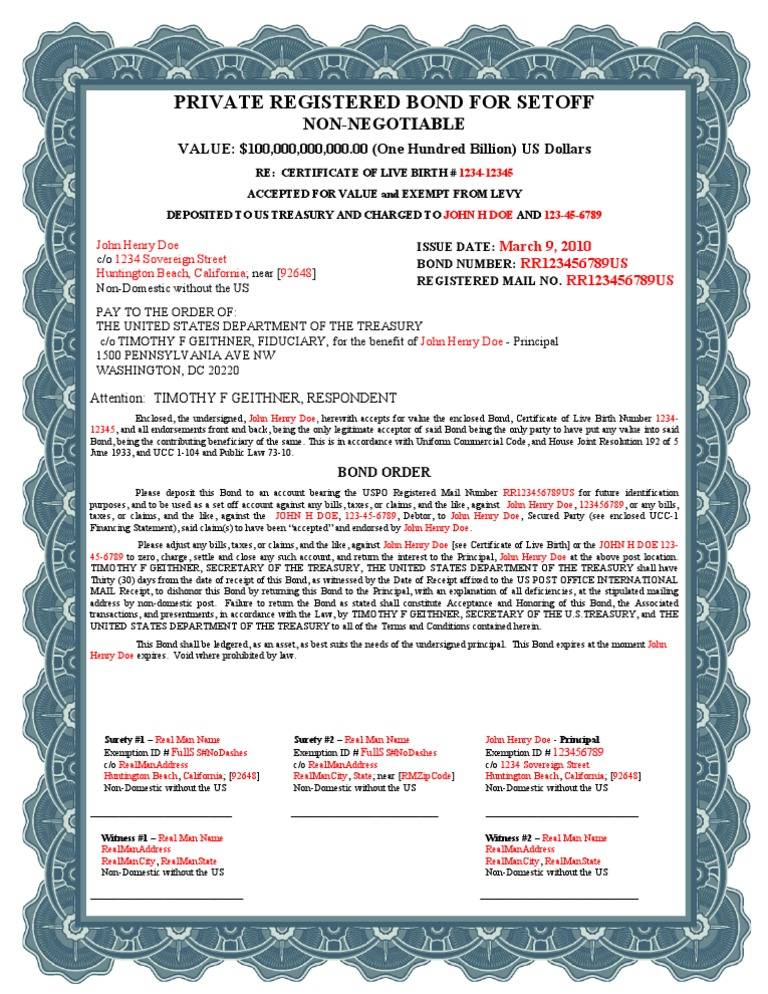 certificate of live birth document number