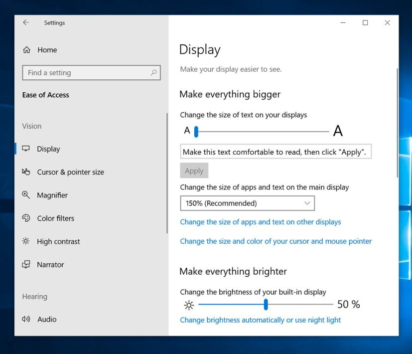 how to search within a document on windows
