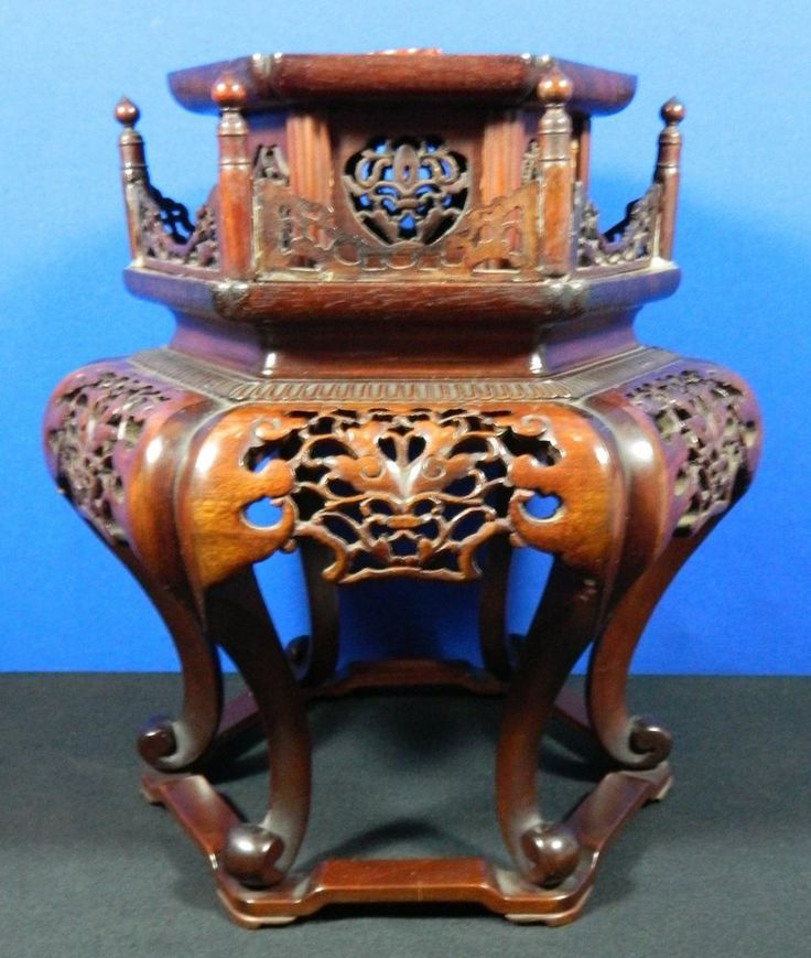 chinese carved calligraphy imber document box