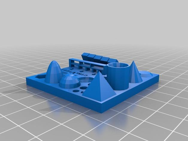 print document exactly the same using 3d printer