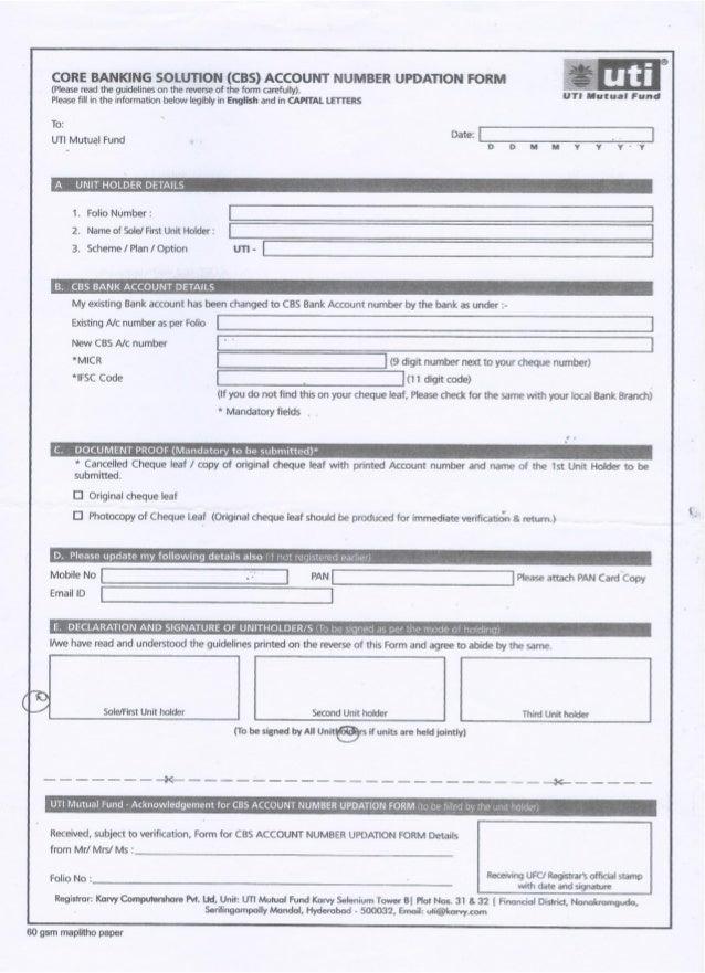 document proof of banking deposit