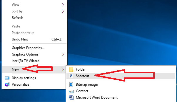 shortcut key to open new word document