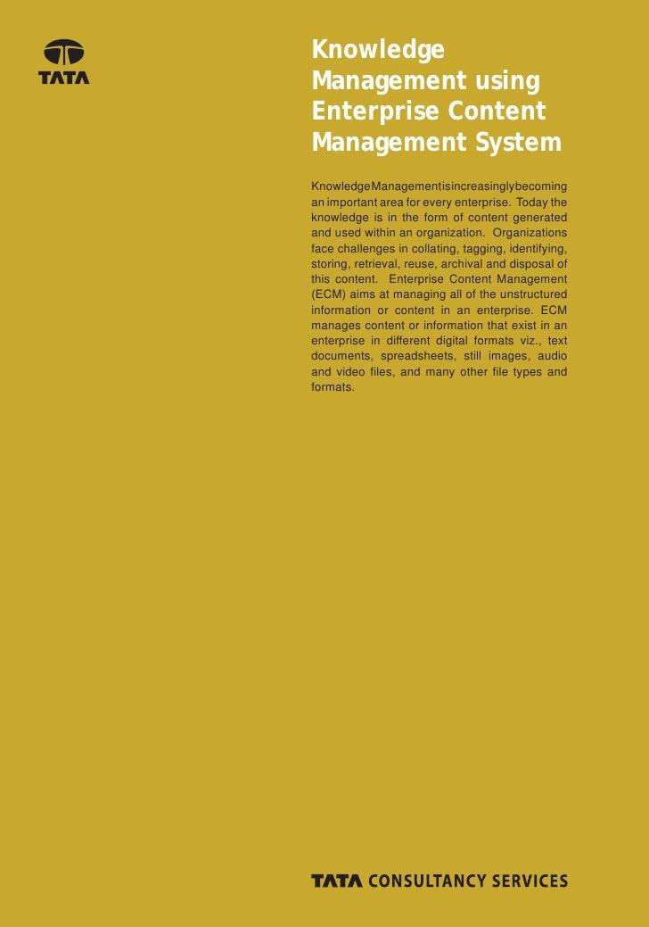 enterprise document management system wiki