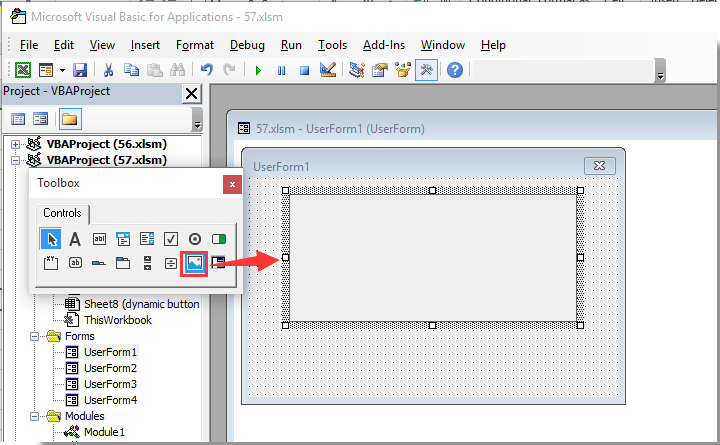 excel 2013 insert document property