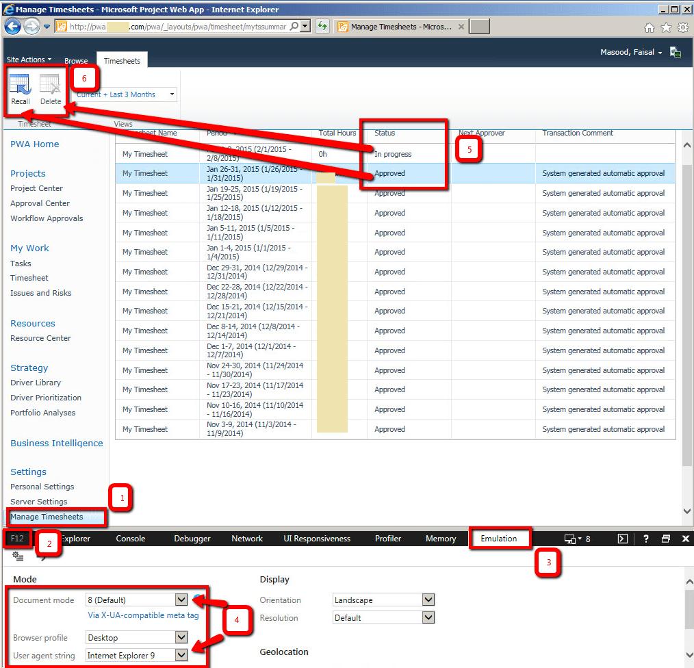 f12 developer tools document mode