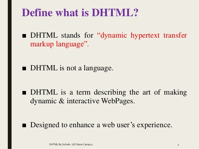 define document object model dom