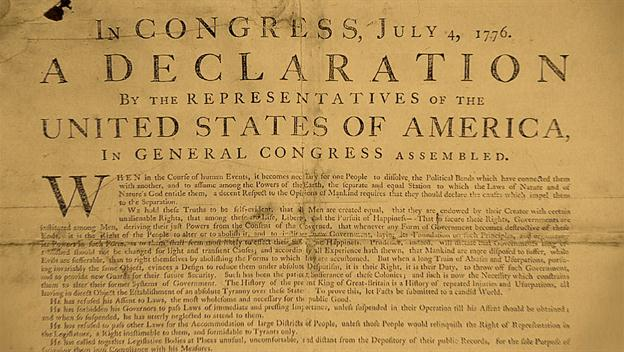 what document came before the declaration of independence