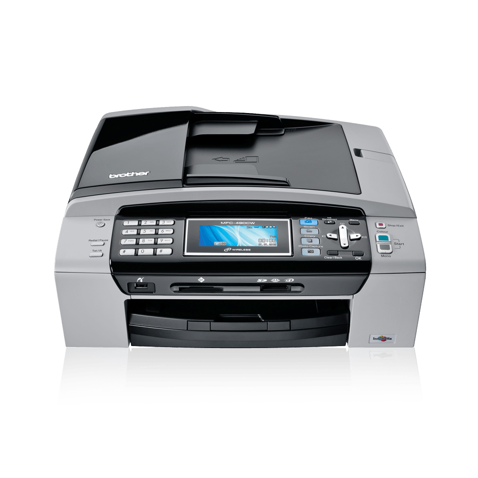 how to scan a document from brother printer to computer