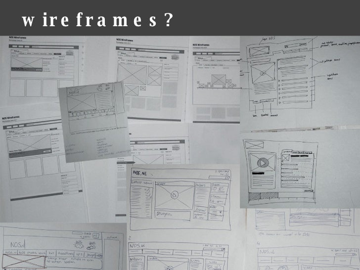 word for print document wireframe