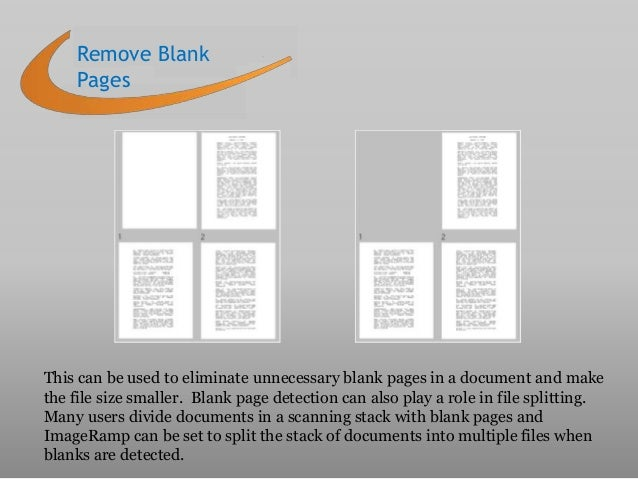 how to make a scanned document smaller in size