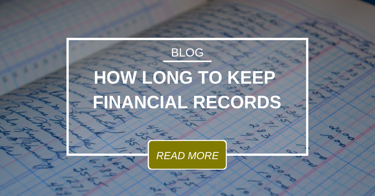 finantial record keeping documentation