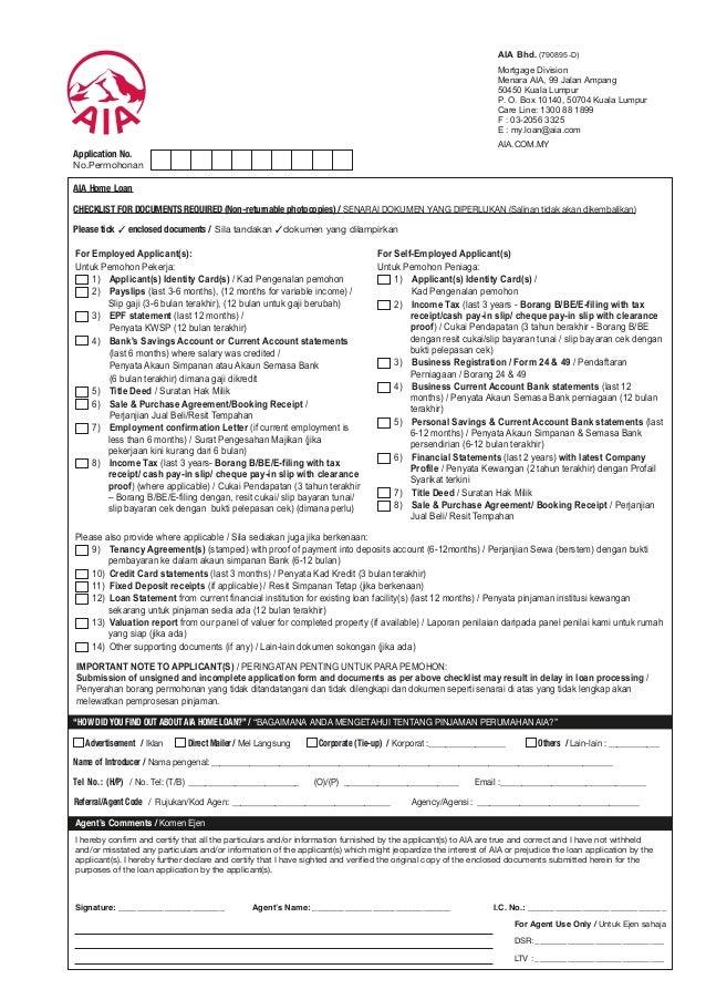 home loan document checklist sbi