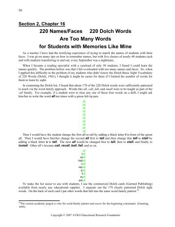 how many different words in a document