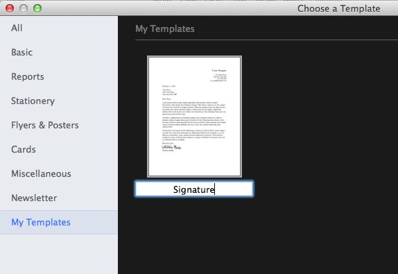 how ro put signature on document ipad email