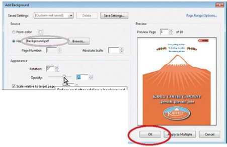 how to add a jpeg image to a pdf document