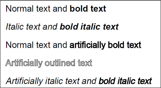 how to bold text in a pdf document