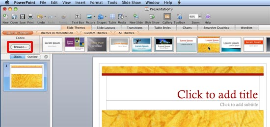 how to insert a document into powerpoint