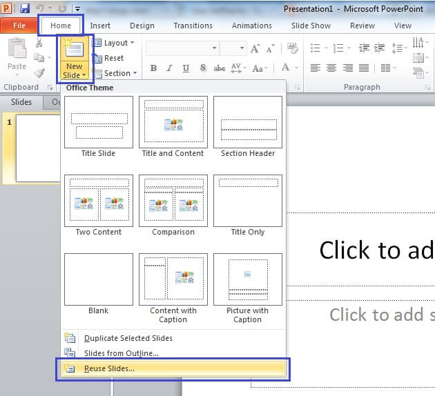 how to insert a powerpoint presentation into a word document