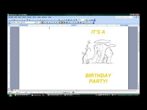 how to make a double sided document in word 2010