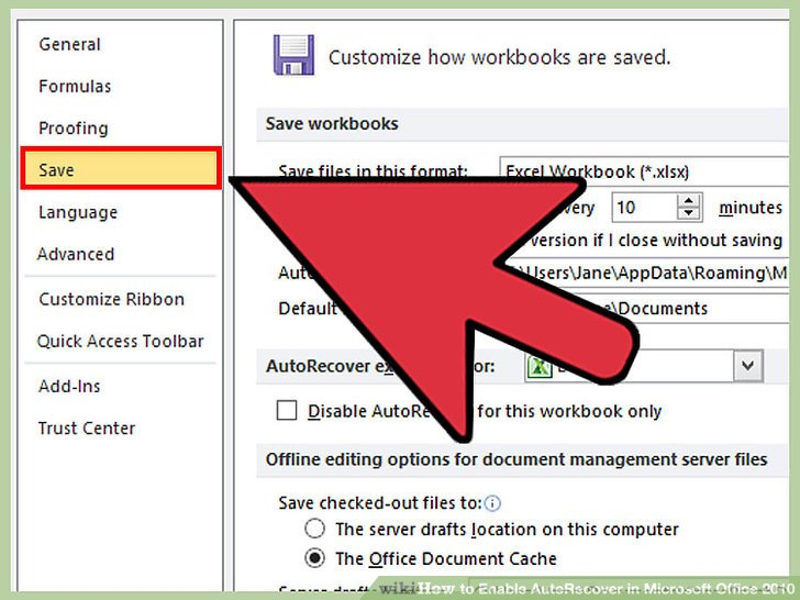 how to recover word document not autosaved
