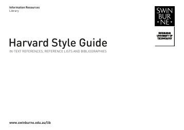 how to reference a adelaide guideline document in harvard