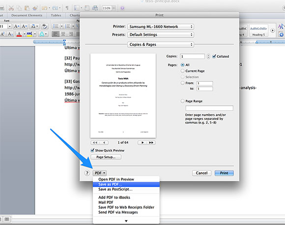 how to rotate a document on a mac