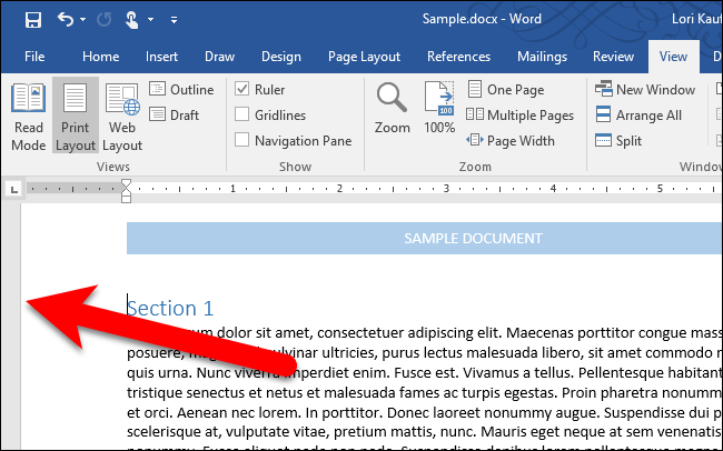 how to scale text in a word document