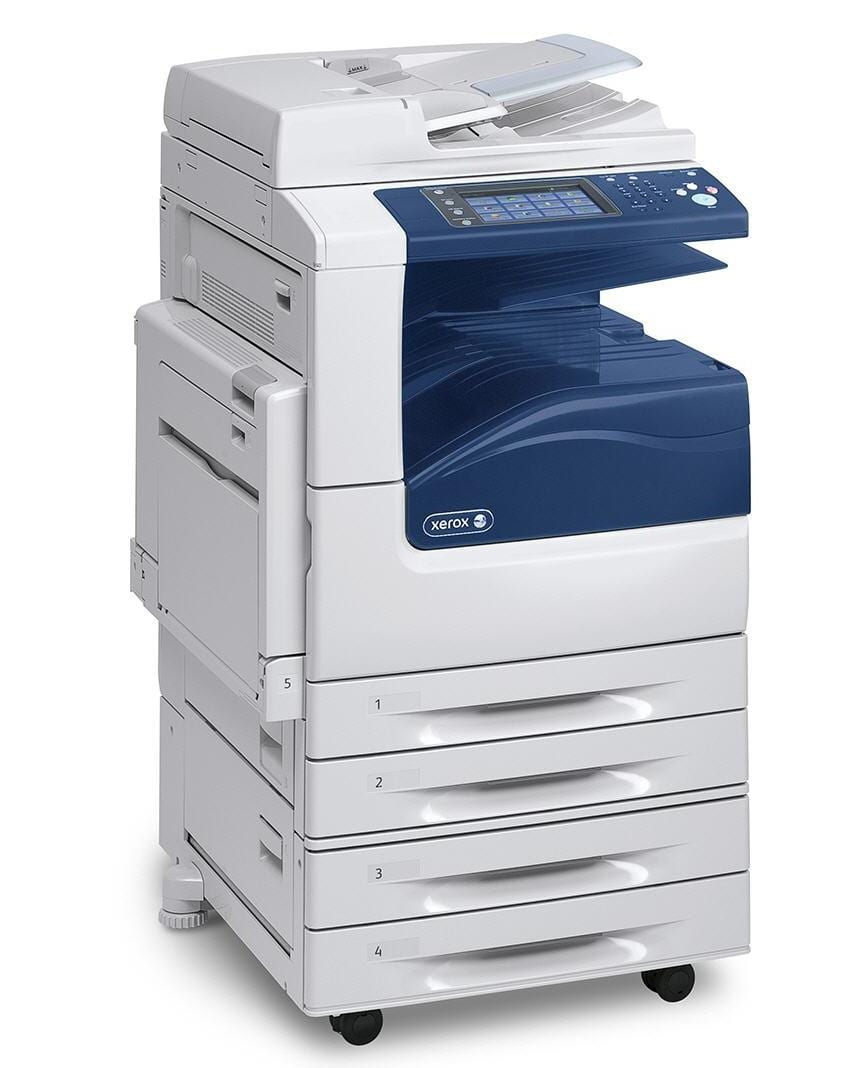 how to scan a document using xerox machine