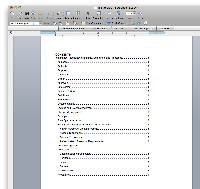 how to sort word document in alphabetical order