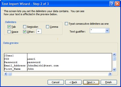 how to turn a text document into a batch file