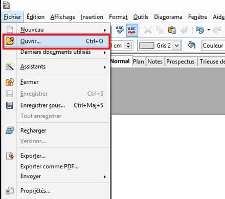 how to watermark a document in openoffice