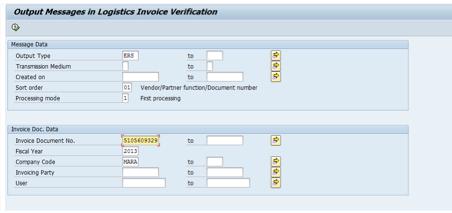 invoice document type in sap