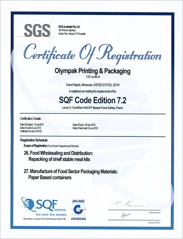 is a primary document certified