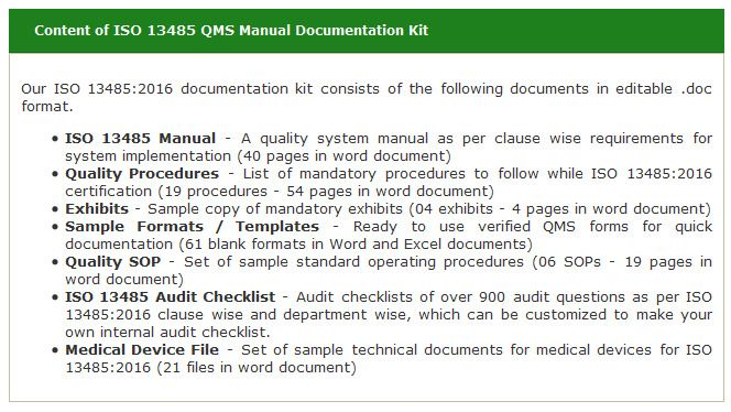 iso 13485 2016 guidance document