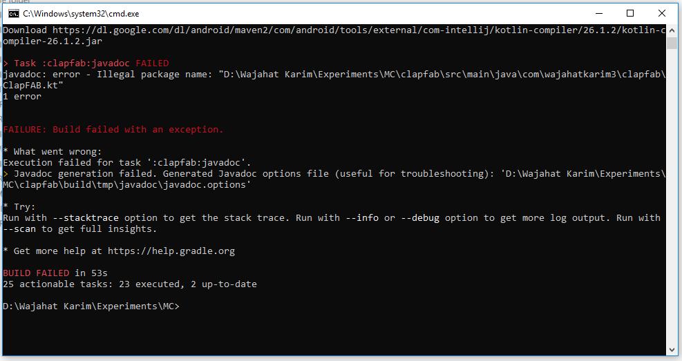 java api documentation for android studio javadoc
