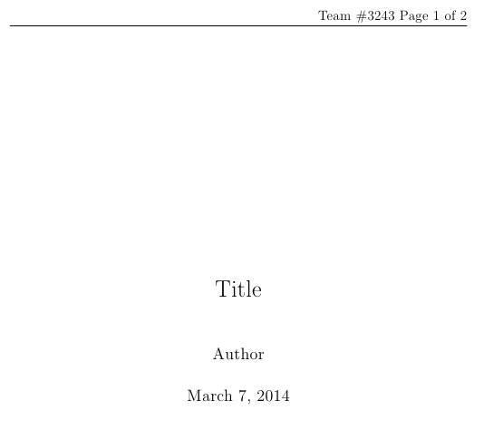 latex title page outside document