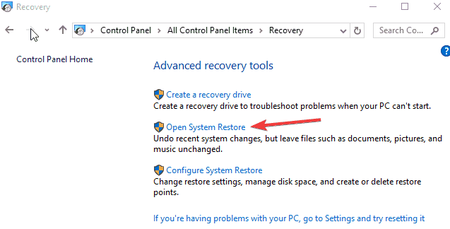 manually open recovery document indesign